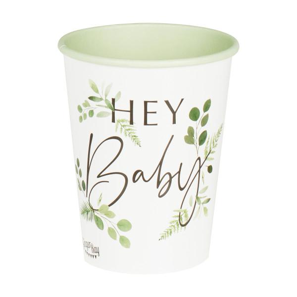 Botanical Baby Becher Hey Baby (8 Stück)