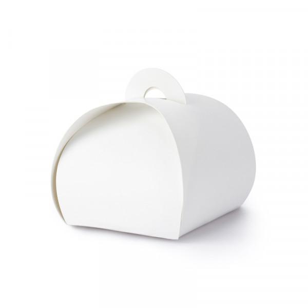 Geschenkbox / Kartonage (10 Stück) - weiß