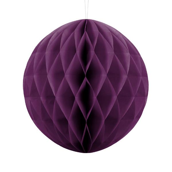 Wabenball 30 cm lila