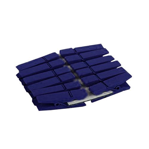Klammern (12 Stück) - blau