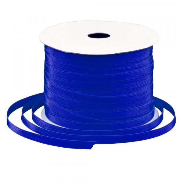 Satinband 6 mm x 91 m - dunkelblau