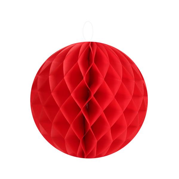 Honeycombs / Wabenbälle 10 cm (2 Stück) - rot