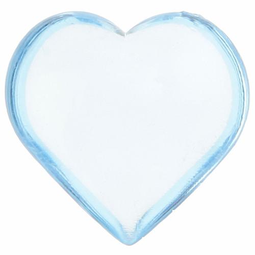 Streudekoration Herzen (12 Stück) - hellblau