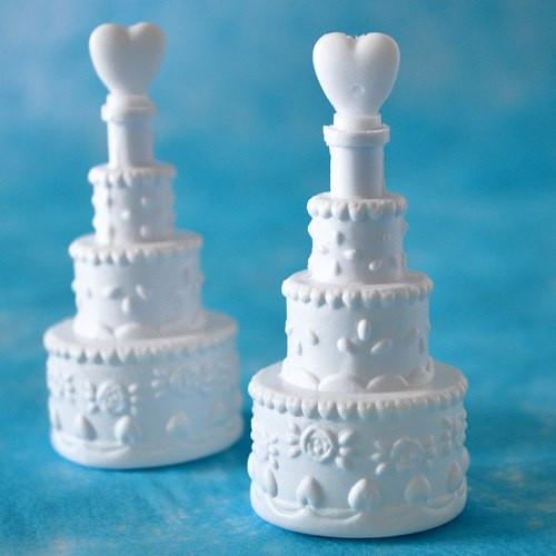 Wedding Bubbles / Seifenblasen 'Hochzeitstorte'