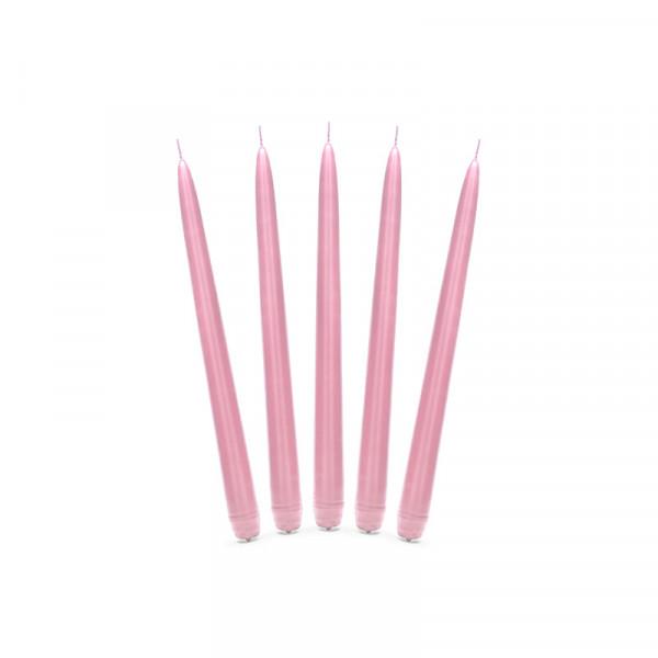 Spitzkerzen (10 Stück) - rosa
