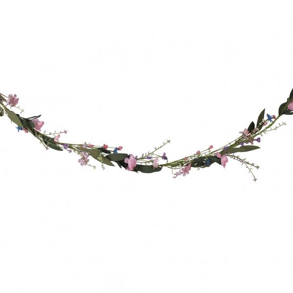 Boho Floral Blumen Girlande 1,9 m