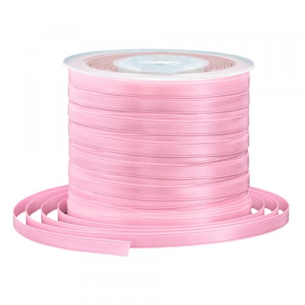Satinband 6 mm x 91 m - rosa