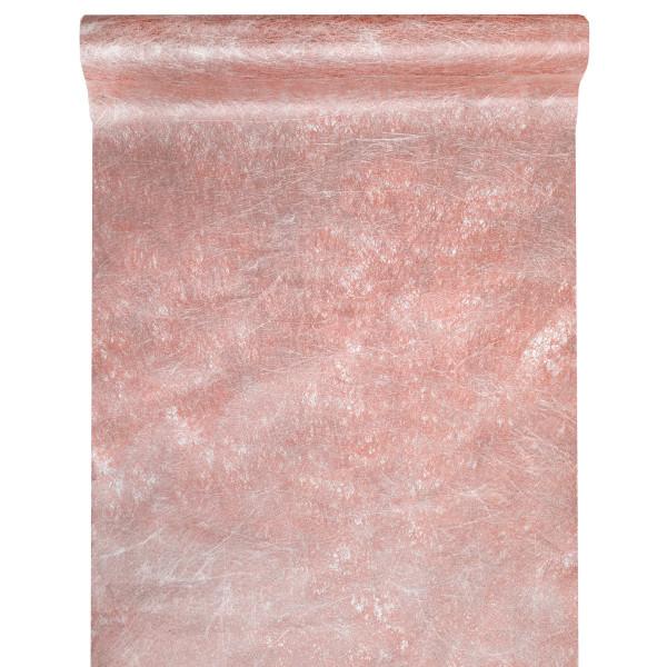 Tischläufer Fanon 30 cm x 5 m - altrosa