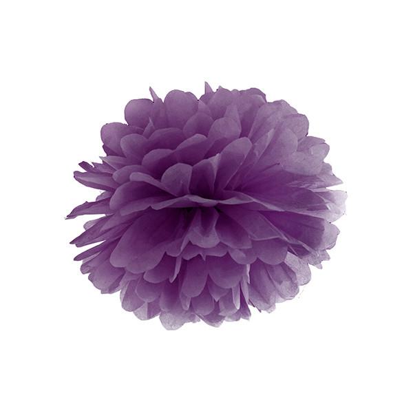 Pompom 25 cm lila
