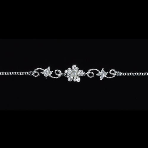 Armband 'Lina' mit Strassblüte