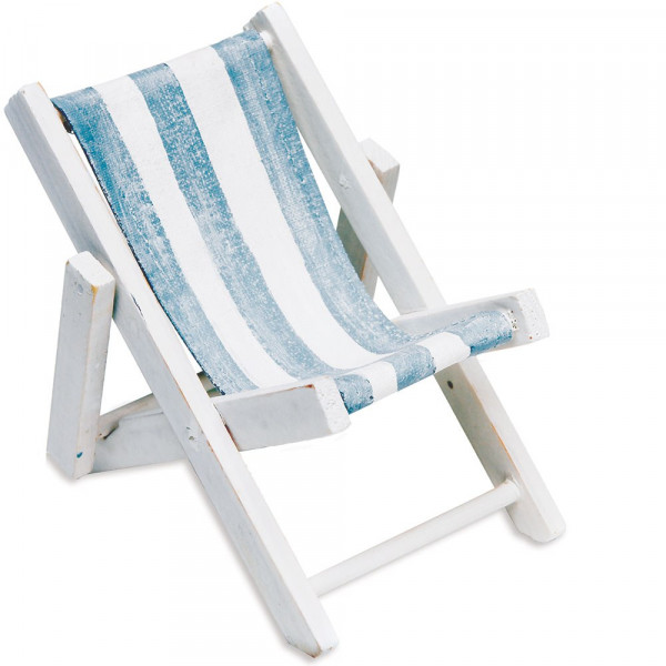 Tischkartenhalter Strandstuhl (1 Stück)