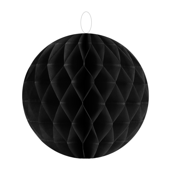 Honeycombs / Wabenbälle 20 cm (2 Stück) - schwarz