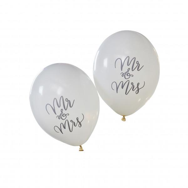 Luftballons Mr & Mrs Boho (10 Stück)