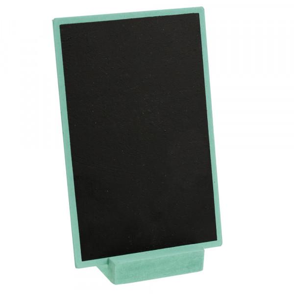 Tafel zum Stellen 10 x 15 cm - mint
