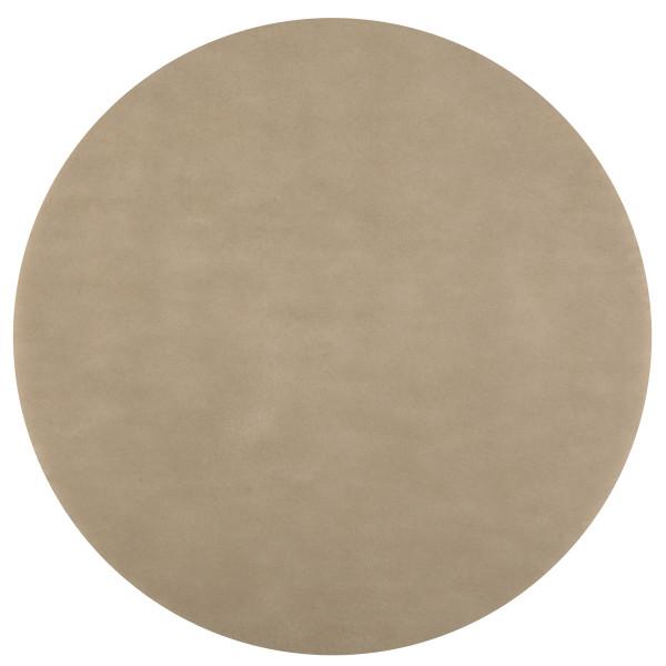 Platzset / Tischset Vlies rund 34 cm (50 Stück) - taupe
