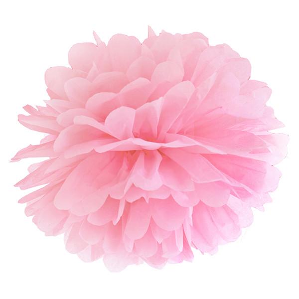 Pompom 35 cm rosa
