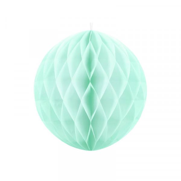 Wabenball 20 cm mint