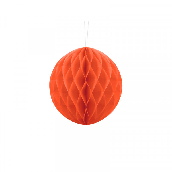 Wabenball 20 cm orange