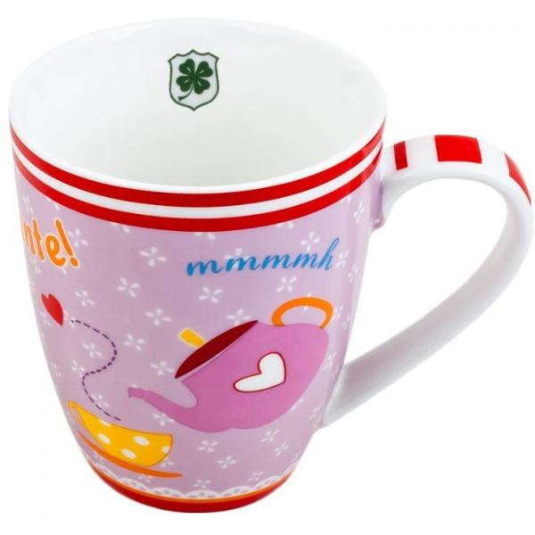 Tasse 'Kaffeetante' - lavendel