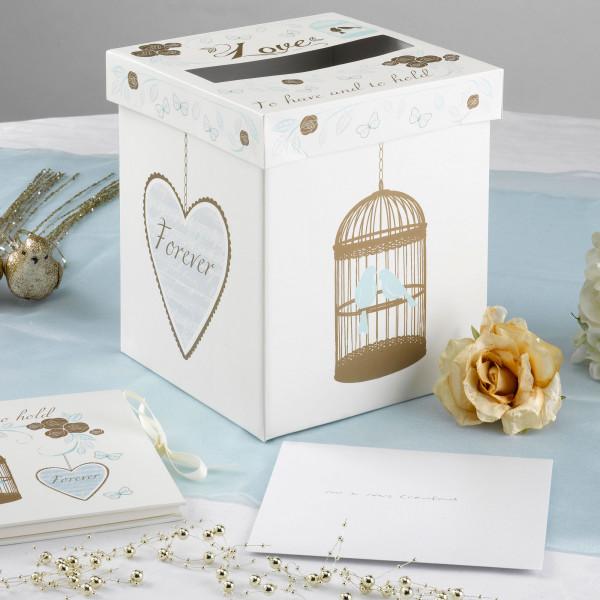 Briefbox / Geschenkbox 'To have and to hold' 22 x 22 x 25 cm