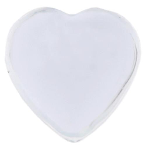 Herz-Strasssteine, selbstklebend (36 Stück) - transparent