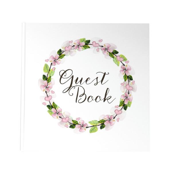 Gästebuch Blumenkranz 'Guestbook'