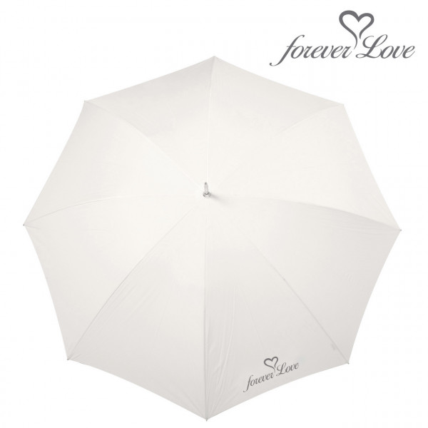 Wedding Regenschirm 'forever Love' - creme