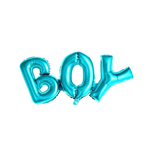 Folienballon 'Boy' Junge 67 cm - blau