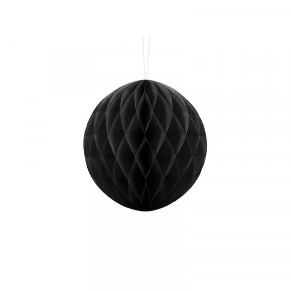 Wabenball 20 cm schwarz