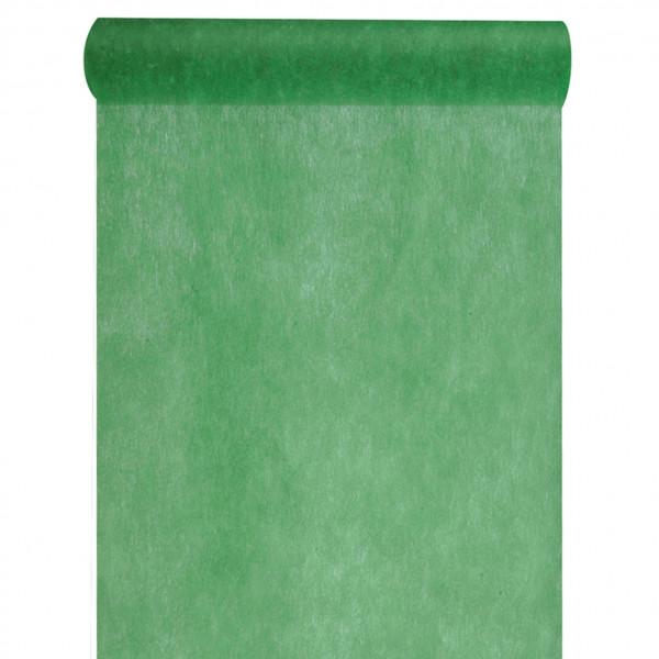 Tischläufer Vlies 30 cm x 10 m - grün