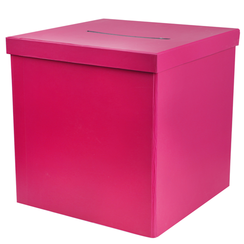 Briefbox / Geschenkbox 20 x 20 cm - pink