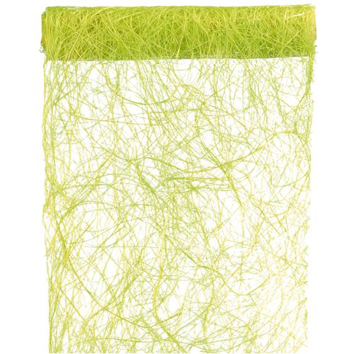 Tischläufer Abaca 30 cm x 5 m - hellgrün