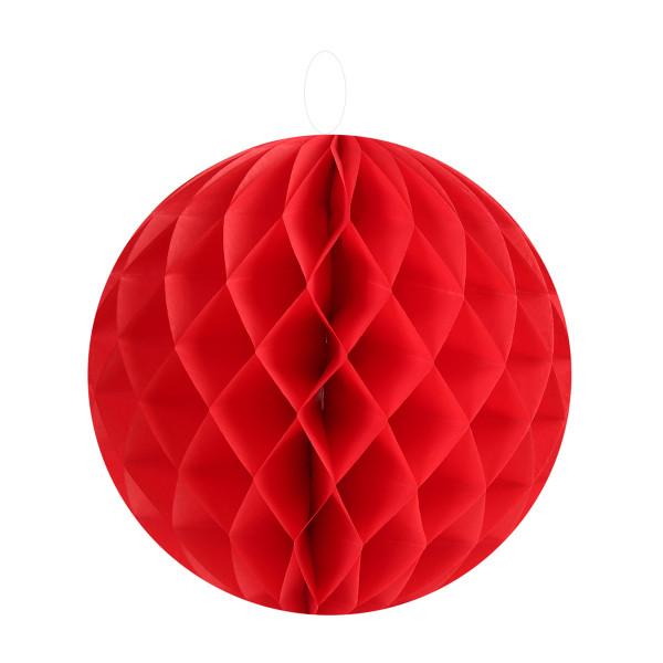Honeycombs / Wabenbälle 20 cm (2 Stück) - rot