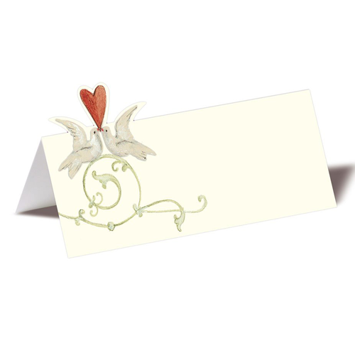 Silke Leffler Tischkarte 'Ornament' (1 Stück)