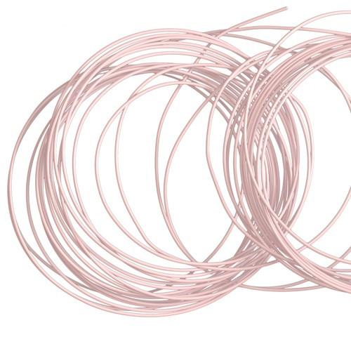 Basteldraht / Dekodraht 2 mm rund 12 m - Rosa