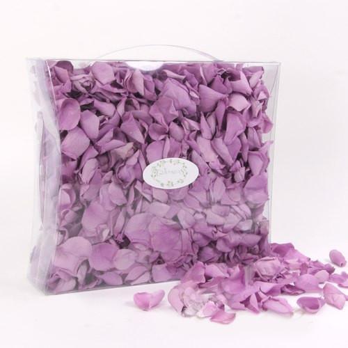Echte Rosenblätter 150 g - flieder