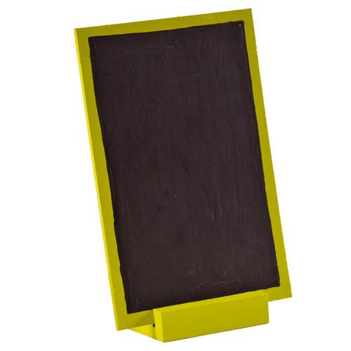 Tafel zum Stellen 10 x 15 cm - hellgrün