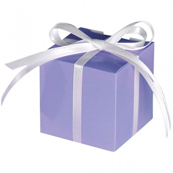Geschenkbox / Kartonage (100 Stück) - flieder