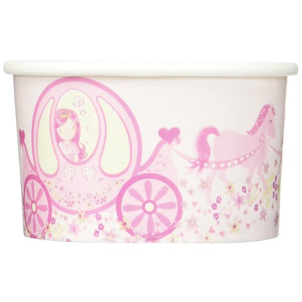 Eisbecher Prinzessin, rosa - 8 Stück