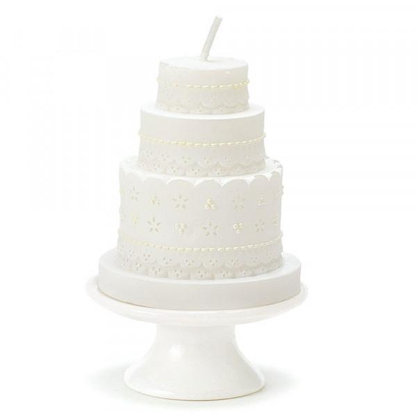 Kerze 'Hochzeitstorte'