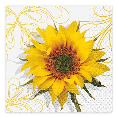 Servietten Sonnenblume (20 Stück)
