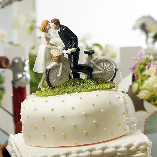 Tortenfigur - Fahrradpicknick