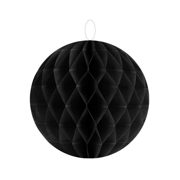 Honeycombs / Wabenbälle 10 cm (2 Stück) - schwarz