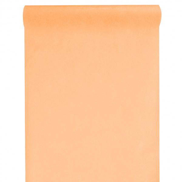 Tischläufer Vlies 30 cm x 10 m - apricot