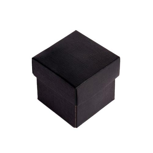 Kartonage 'Scatola' - schwarz
