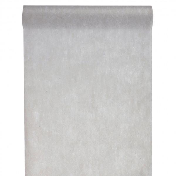 Tischläufer Vlies 30 cm x 10 m - grau