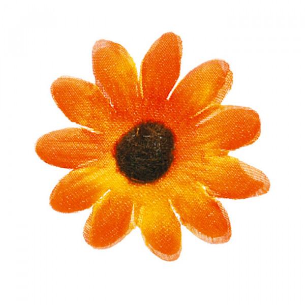Dekoblumen / Streublüten (24 Stück) - orange