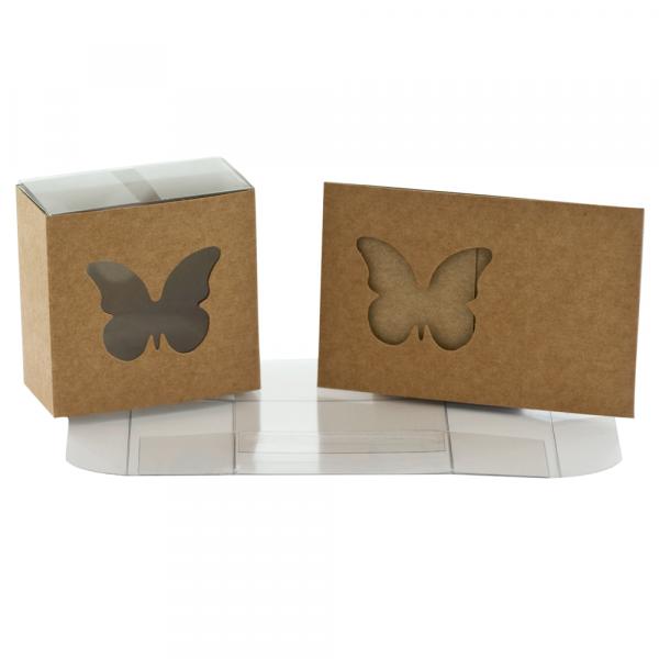 Kartonage Schmetterling - kraft