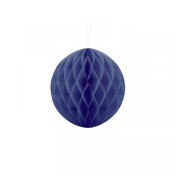 Wabenball 20 cm blau