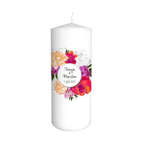 Hochzeitskerze Floral Dream